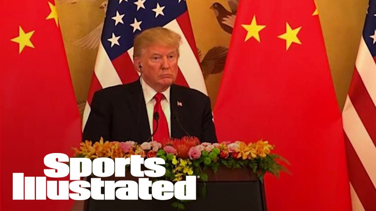 Trump Asks Xi Jinping To Help UCLA, LiAngelo Ball In Shoplifting Case | SI Wire | Sports Illustrated