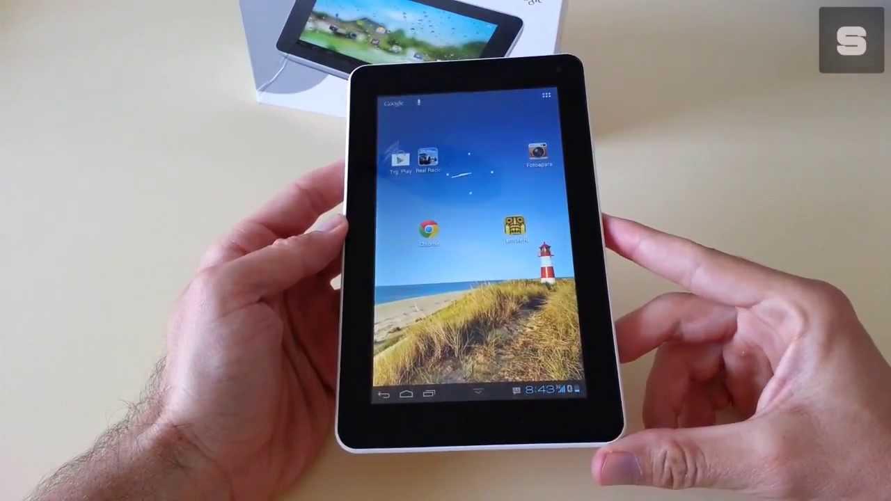Huawei MediaPad 7 Lite tablet video recenzija