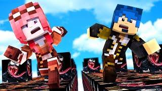 Minecraft ITA - LA CORSA DEI LUCKY BLOCK DI VENOM!!