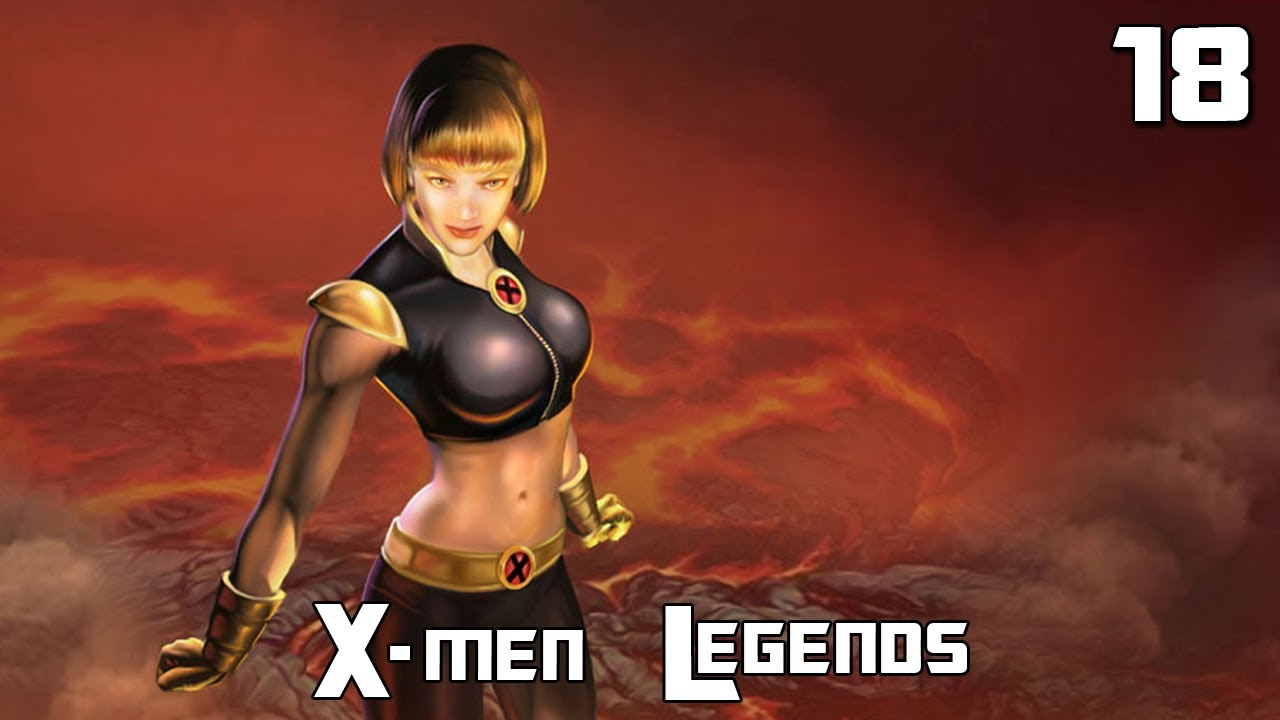 X Men Legends Magma X-Men Legends   18 - Magma im