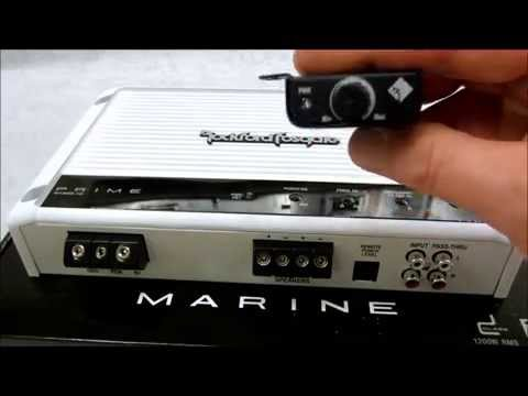 Rockford Fosgate Amp Review    Marine M1200 1D Amplifier