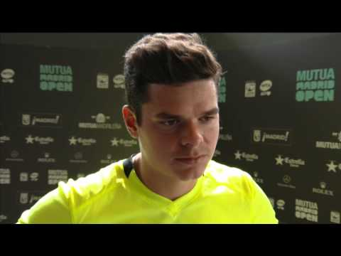 Madrid 2013 Monday Interview Raonic