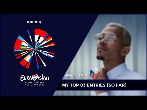 Eurovision 2020 - My top 03 entries so far (NEW: