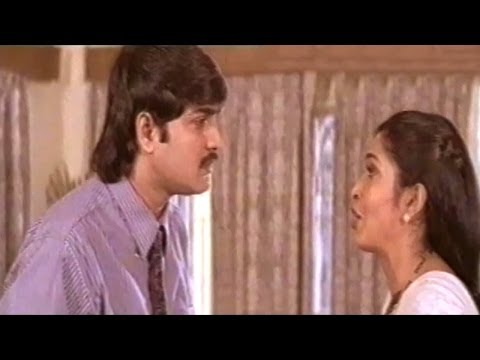 Aahwanam Scenes - Srikanth Asking Divorce From Rajeswari - Ramya Krishna video
