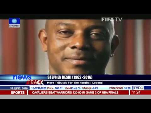 FIFA, CAF, Chelsea Pay Tribute To Stephen Keshi