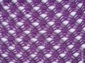 Сиреневый, ажурный узор крючком (beautiful pattern to crochet) (узор#20)