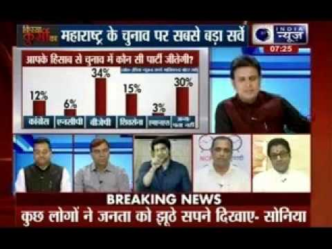 The biggest Survey in Maharashtra elections