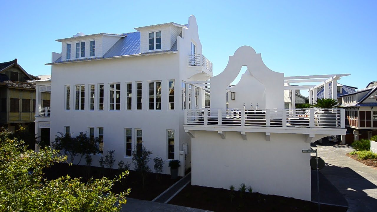 Fabulous Rosemary Beach Florida 4br Gulf View Rental Home