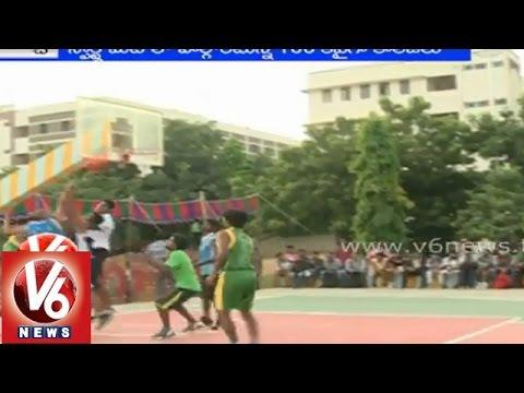 State level Inter College Sports Fest 'Ekalavya 2014' at MGIT - Hyderabad