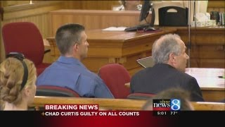 Chad Curtis Found Guilty on All Counts