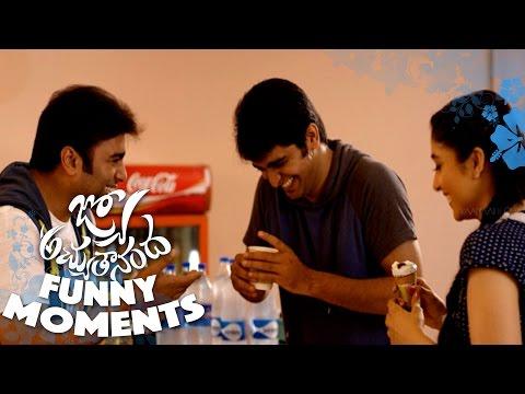 Funny Moments from Jyo Achyutananda Sets - Nara Rohith, Naga Shaurya, Regina    Avasarala Srinivas thumbnail