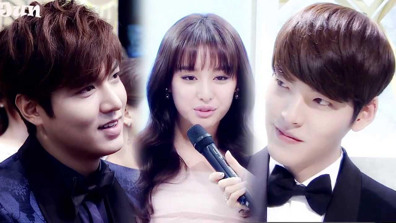 Kim Ji Won And Lee Jong Suk Ho  amp Lee Jong Suk   Kim Ji