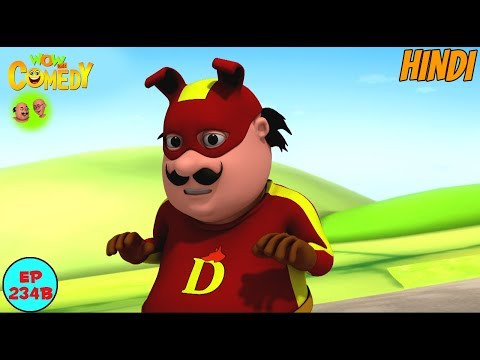 Motu The Super Dog Man - Motu Patlu in Hindi - 3D Animated cartoon series for kids - As on nick thumbnail