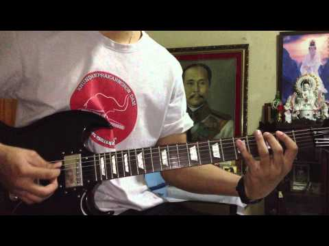 Diver - Nico Touches The Walls Solo Guitar Cover By Chaiya video
