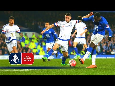 Lukaku's superb solo goal v Chelsea - 2015/16 Emirates FA Cup (R6) | Goals & Highlights