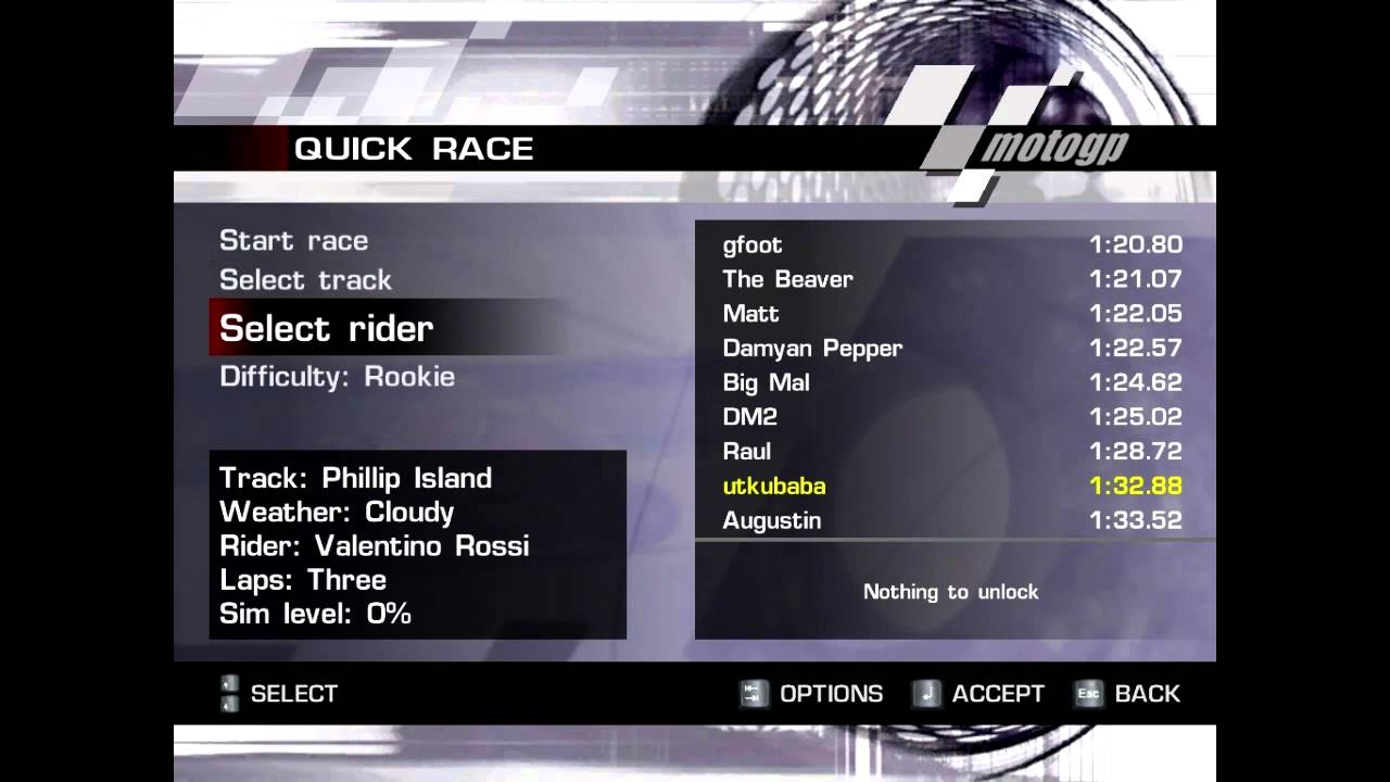 how to unlock all bikes,riders and tracks in motoGP - YouTube
