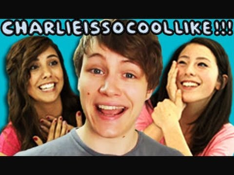 TEENS REACT TO CHARLIEISSOCOOLLIKE