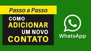 Como Adicionar Contatos no WhatsApp | Passo a Passo