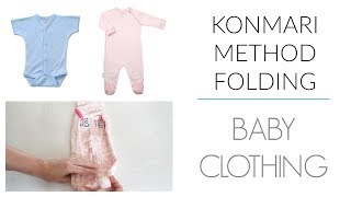 KonMari Method | Folding - Baby Clothing