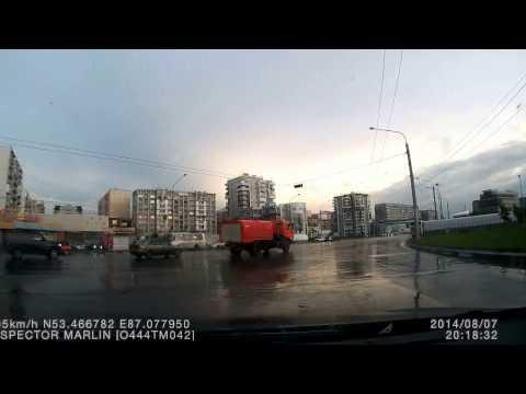 Авария в Кемерово 07 08 2014