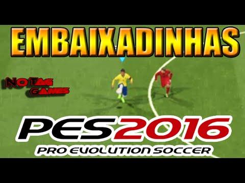 PES 2016 - EMBAIXADINHAS TUTORIAL/COMO FAZER [XBOX e PLAYSTATION)
