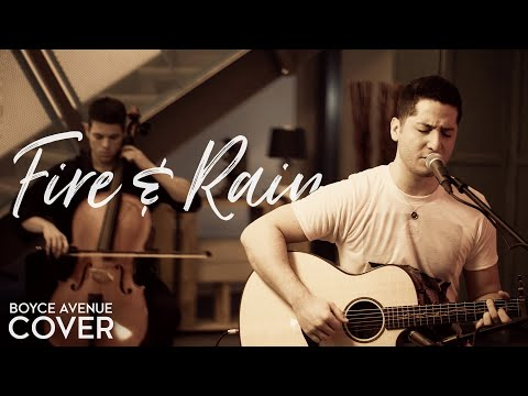 Fire And Rain - James Taylor (boyce Avenue Acoustic Cover) On Itunes & Spotify video