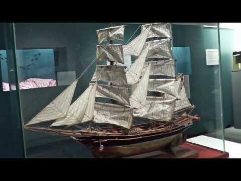 Cuxhaven : Museum  Windstärke 10 (Film 4) Exponate der Fischhalle 8 : Tiere an Bord (August 2017 )