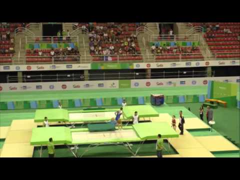 2016 Olympic Test Event - Women's Trampoline - Prelims & Finals