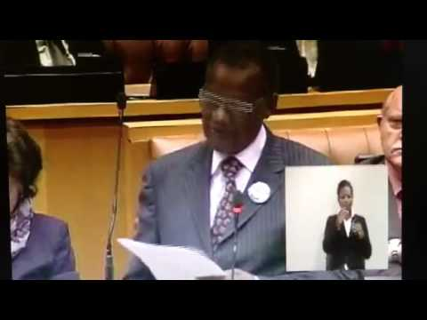 Members Statement by Prince Mangosuthu Buthelezi, MP