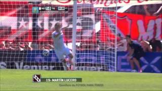 Gol de Lucero. Independiente 1 Tigre 0.Fecha 13.Torneo Primera División 2014.FPT