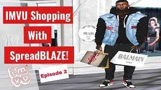 IMVU Shopping With SpreadBLAZE! Episode 2 (Punk/Goth)