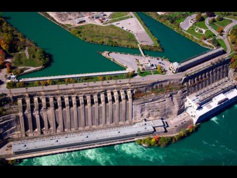 Niagara Hydroelectric Power - Mega Project Harnessing The Power Of Niagara Falls