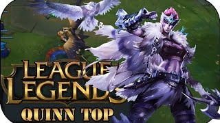 DIE ROAMINGKÖNIGIN! QUINN TOP | League of Legends Gameplay deutsch