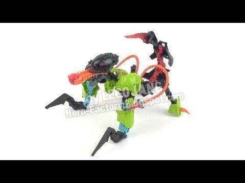 Hero Factory Breakout wave 1 combiner 1: Breez + Thornraxx