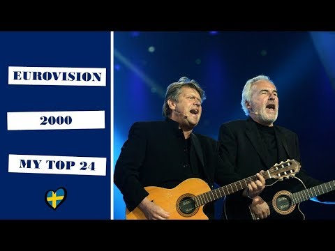 Eurovision 2000 || My top 24 (With comments)