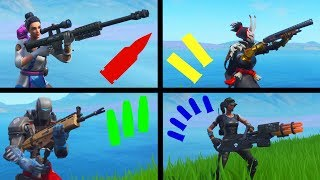 The `AMMO` Type Challenge in Fortnite Battle Royale!