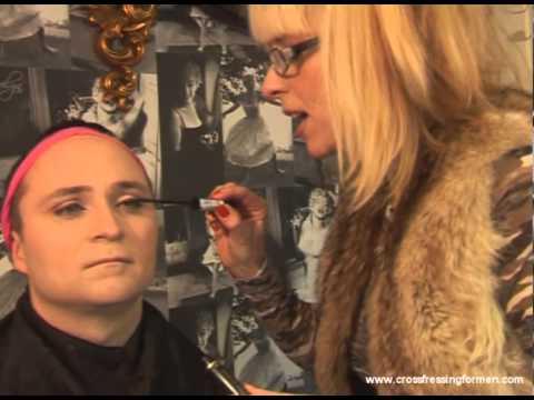 Cross Dressing For Men Presents Day Wear For Eyes Step 2 Mascara