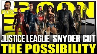 THE POSSIBILITY OF A JUSTICE LEAGUE SNYDER CUT ANNOUNCEMENT AT SDCC
