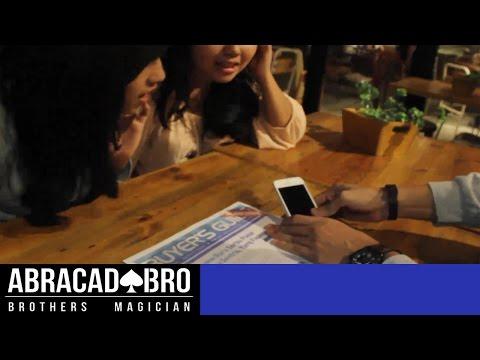 Sulap Dapatkan iPhone Gratis dari Koran. Magic Tricks With iPhone - abracadaBRO Magic Indonesia