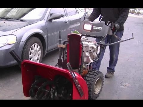 DIY - Drive Ring Repair On Craftsman Snowblower