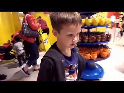 День Рождения канала Mister Max 2 года Подарки зрителям из M&M's World самого большого в Мире