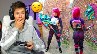 My LITTLE BROTHER PAID a GIRL To Be His Fortnite GIRLFRIEND, but it got REALLY weird...