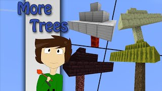 Minecraft - More Trees with only one command | Vanilla Minecraft
