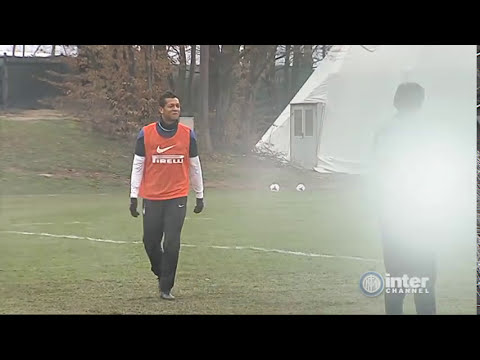 ALLENAMENTO INTER REAL AUDIO 28 02 2014