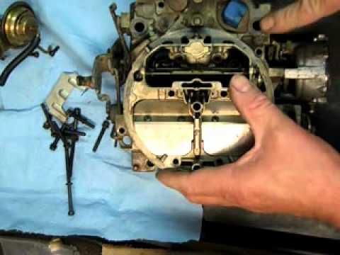 Quadrajet Electronic Carburetor Rebuild - Teardown Part 1