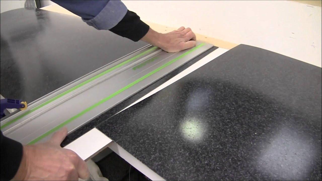 Plastic Laminate Seam Cutting Wmv Youtube