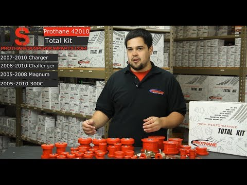 prothane    total suspension bushings kit charger challenger magnum   youtube