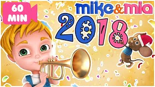 Happy New Year Songs For Kids 2018   Happy New Year Songs For Children   Dancing Songs for Kids