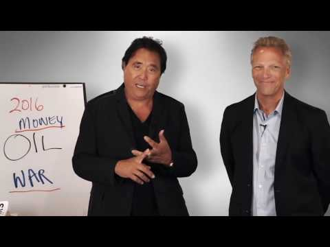 Oil  Lies and Taxes   What it means for creating wealth   Robert Kiyosaki Lecture