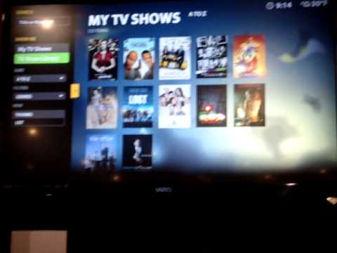 Boxee Box software look  1 - CES 2010